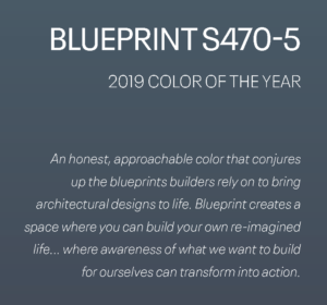 Colorful Future: Behr's Blueprint S470-5 2019 Color of the